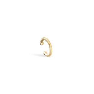 Srebrna naušnica Ear Cuff Hera 18kt Pozlata